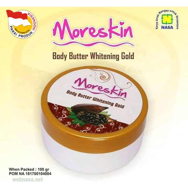 Moreskin Body Butter Whitening
